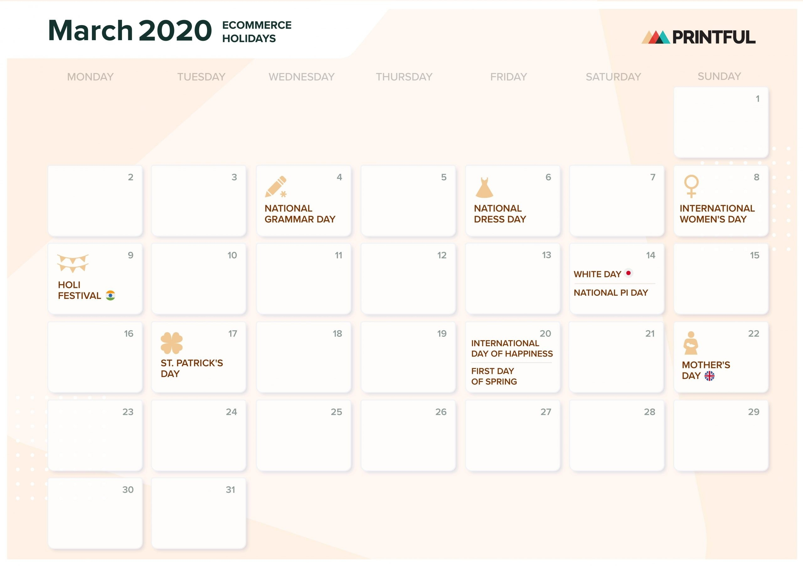 The Ultimate 2020 Ecommerce Holiday Marketing Calendar  2021 Julian Date Code Calendar