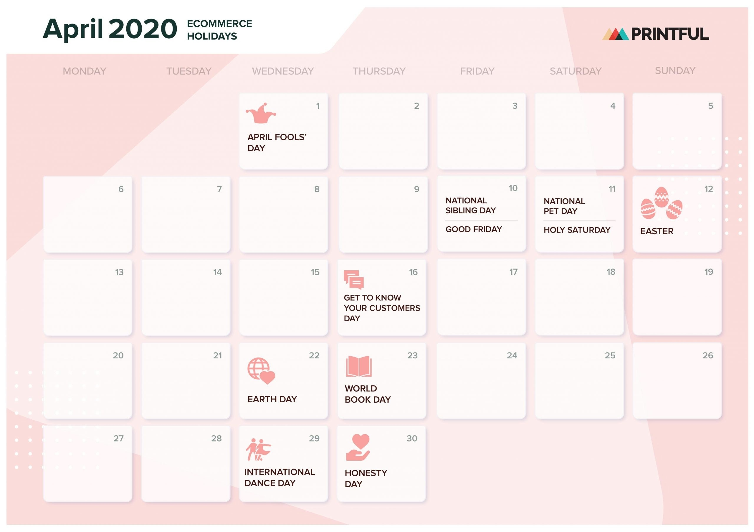 The Ultimate 2020 Ecommerce Holiday Marketing Calendar  Date Code Calendar 2021