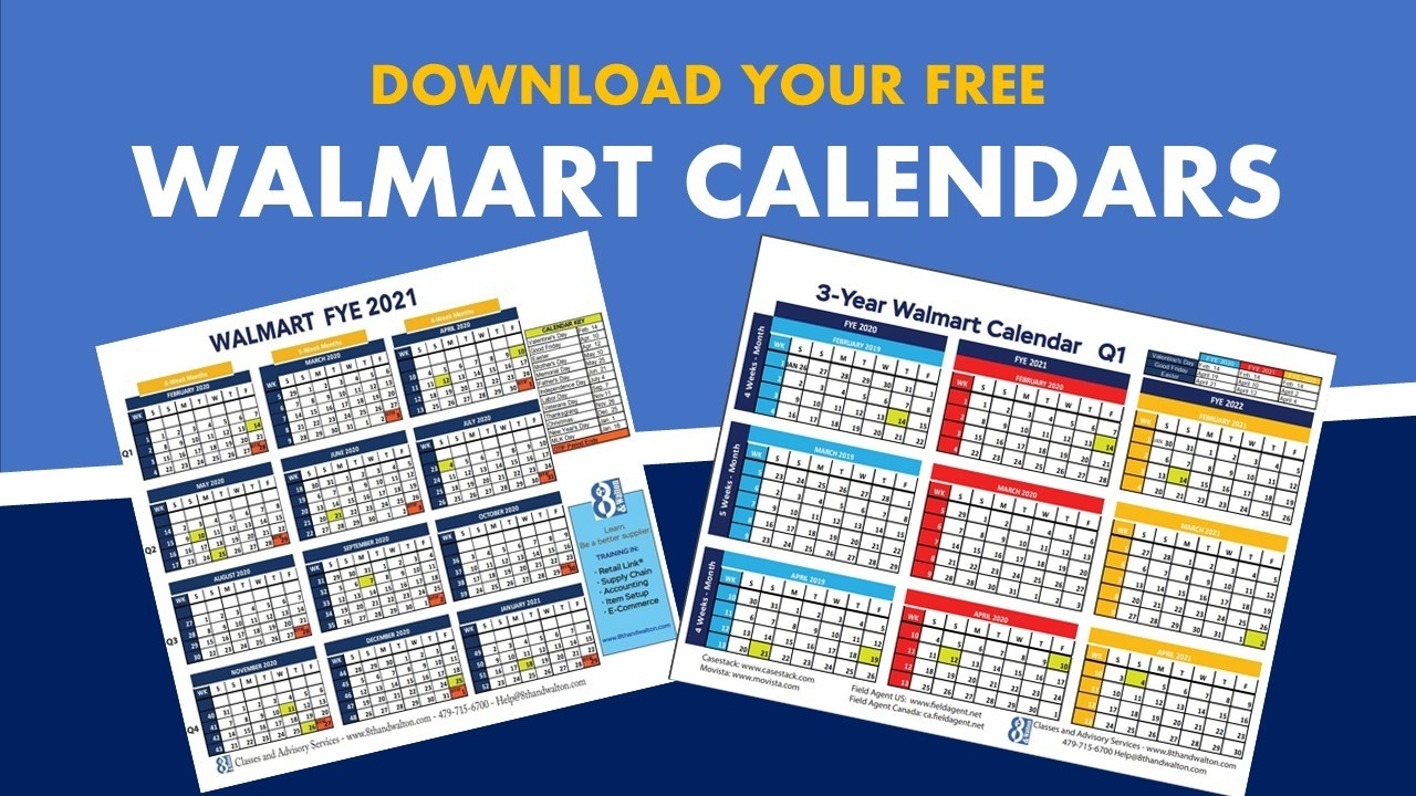 Walmart Fiscal Year Calendar | 2020 – 2021 | Free Download  2020 2021 Financial Year Calendar