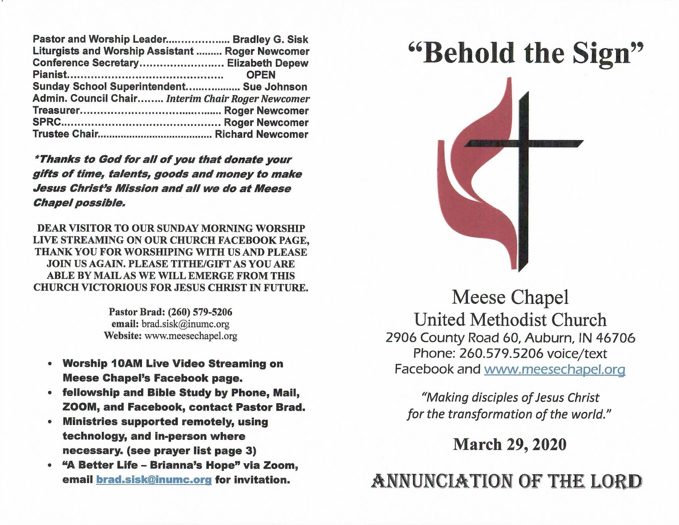 Worship | We Welcome You  Methodist Church Colors By Sundays 2020