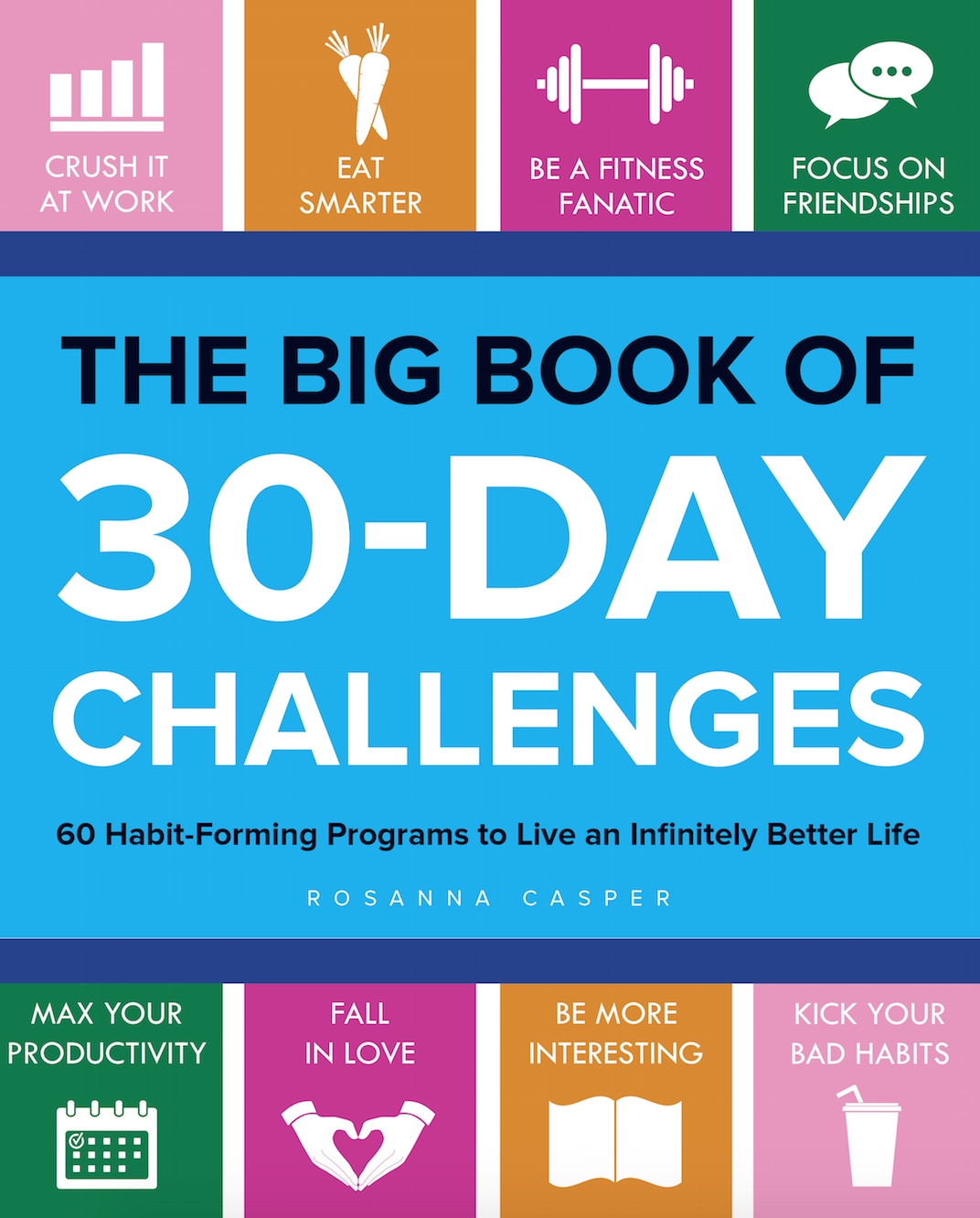 100 30 Day Challenge Ideas -  Workplace Fitness Challenge Chart