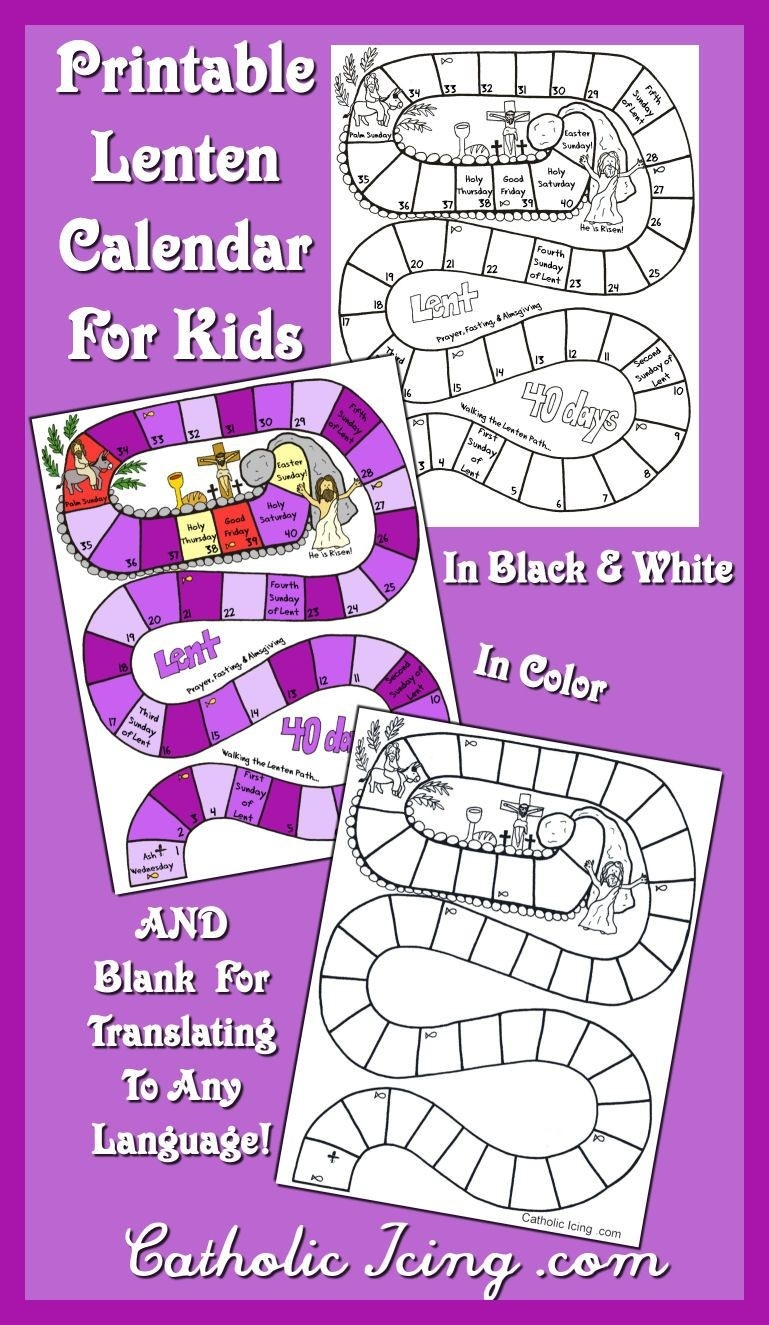 100+ Lent Resources & Crafts For Classrooms & Families Ideas  Printable Umc 2021 Leneten Calendar