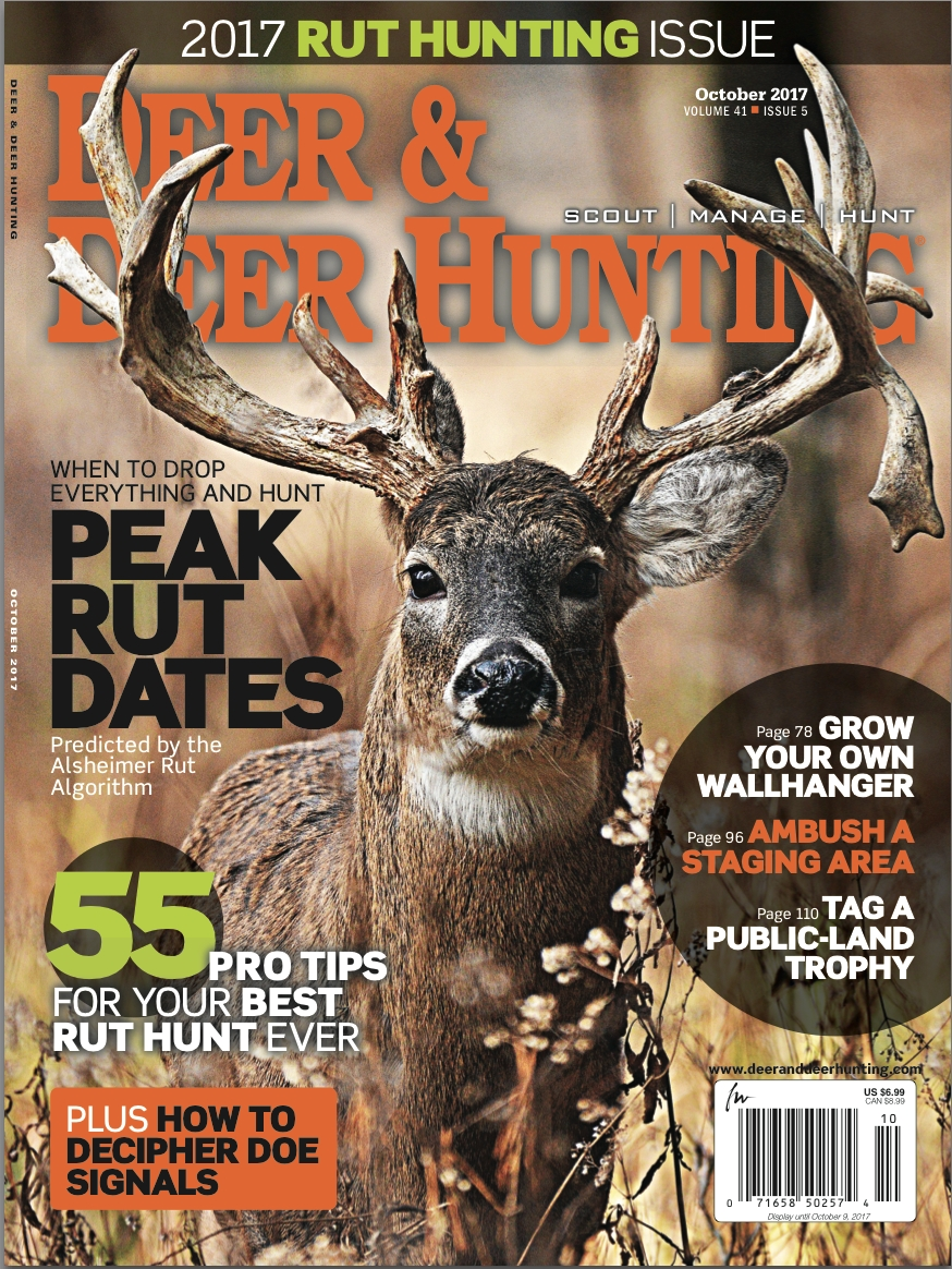 2017 Whitetail Rut Predictions Archives - Deer And Deer Hunting  2021 Whitetail Rut Prediction
