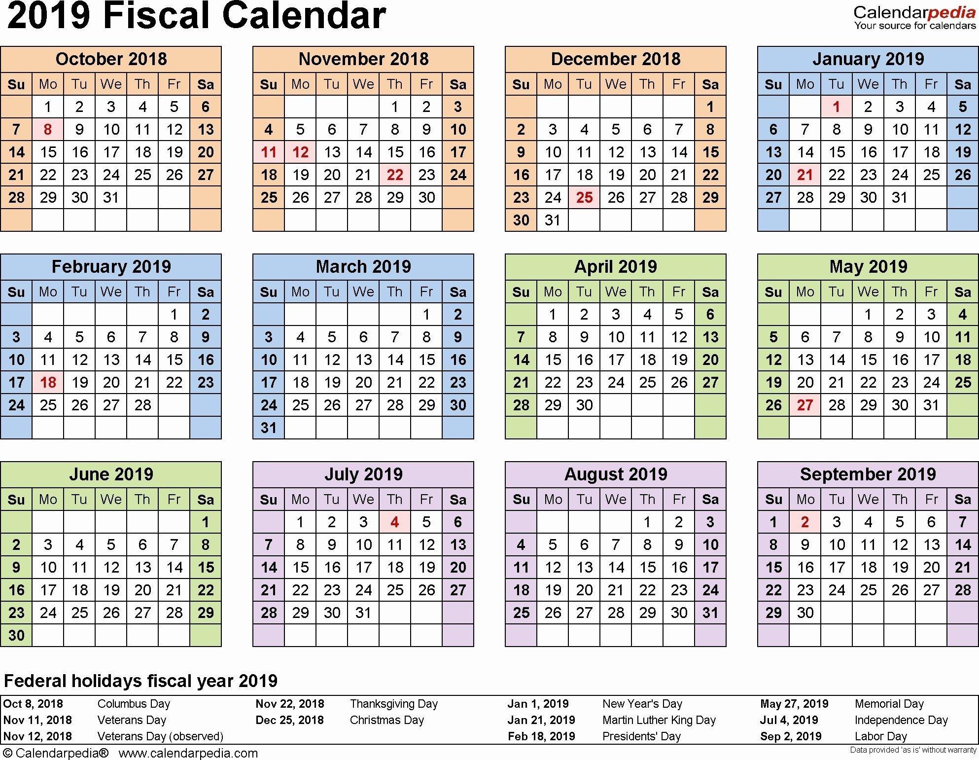 2019 Biweekly Payroll Calendar Excel Awesome 2019 Pay Period  Federal Pay Period Calendar