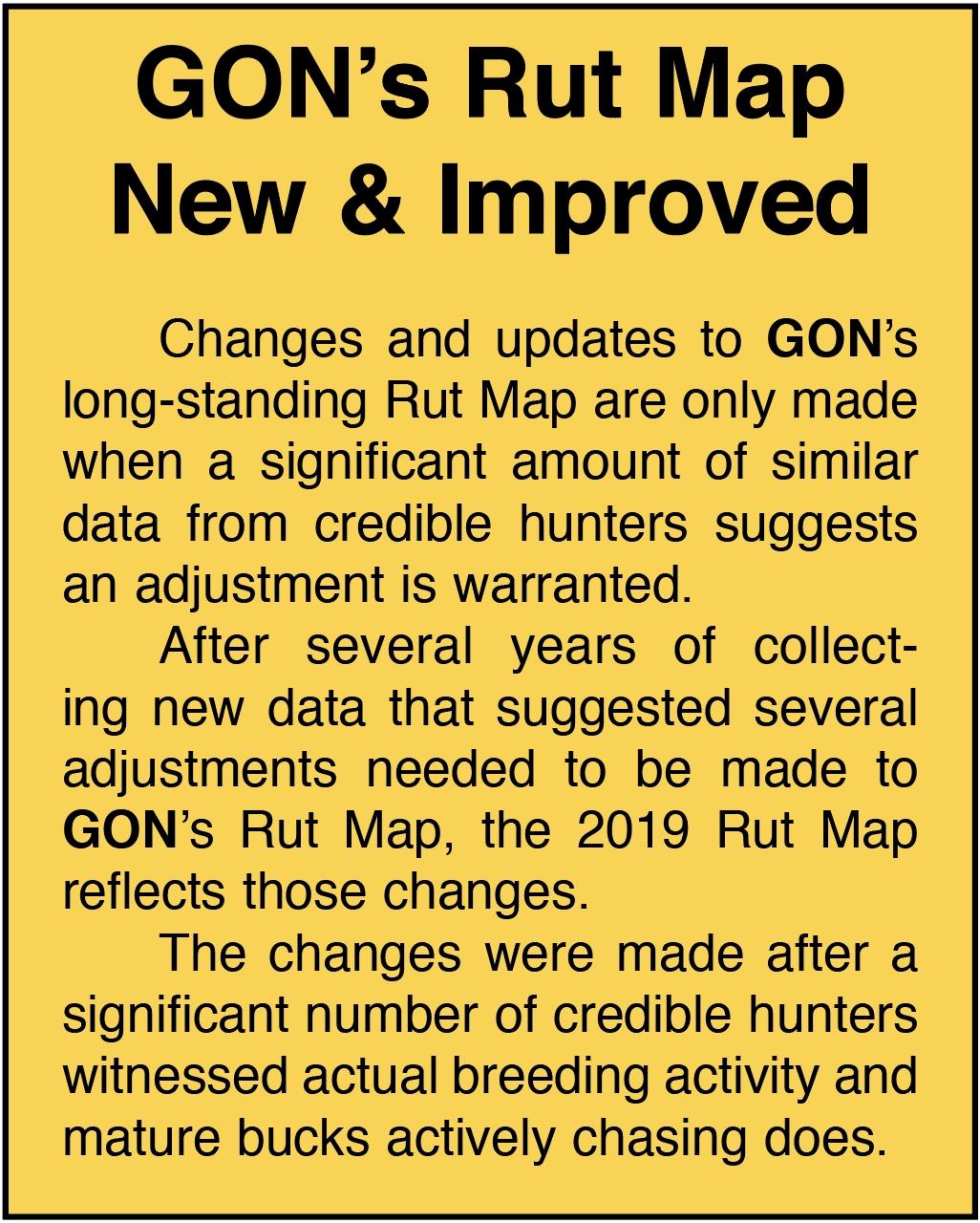 2019 Georgia Rut Map  2021 Rut Map For Ga