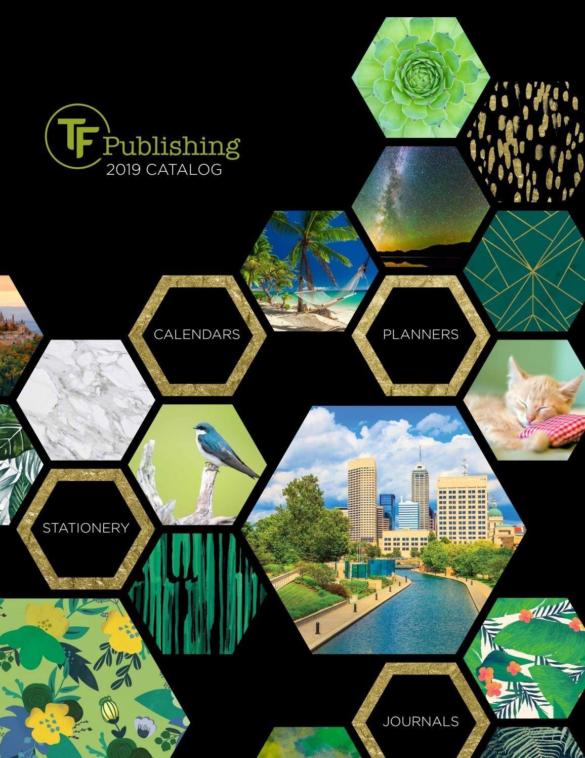 2019 Tf Publishing Catalogtf Publishing - Issuu  Small Mini Checkbook Size Calenders