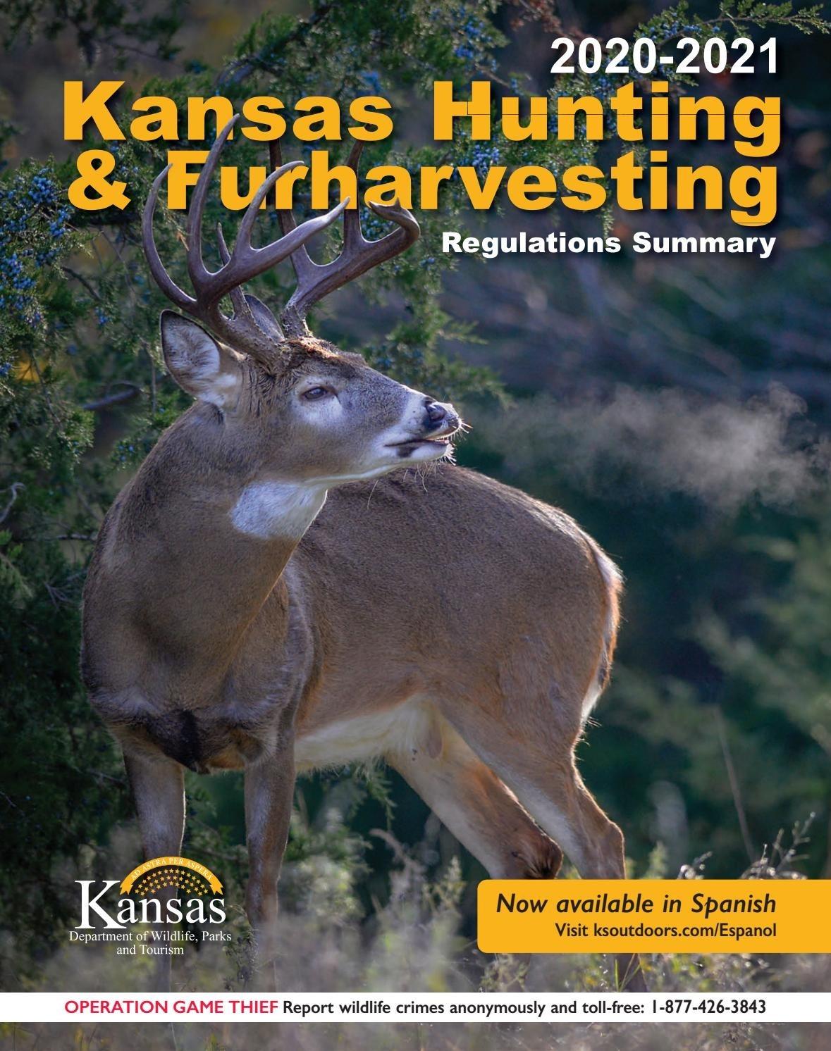2020-2021 Kansas Hunting & Furharvesting Regulations Summary  Kansas Whitetail 2021 Rut