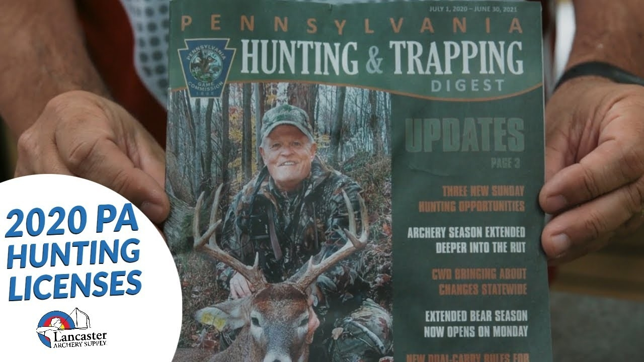 2020-2021 Pa Hunting Licenses On Sale Now  2021 Pa Whitetail Rut