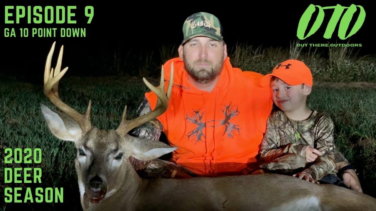 2020 Deer Season Episode 9: Buck Down! Shooting A Georgia 10  2020 Hunting Season In Georgia