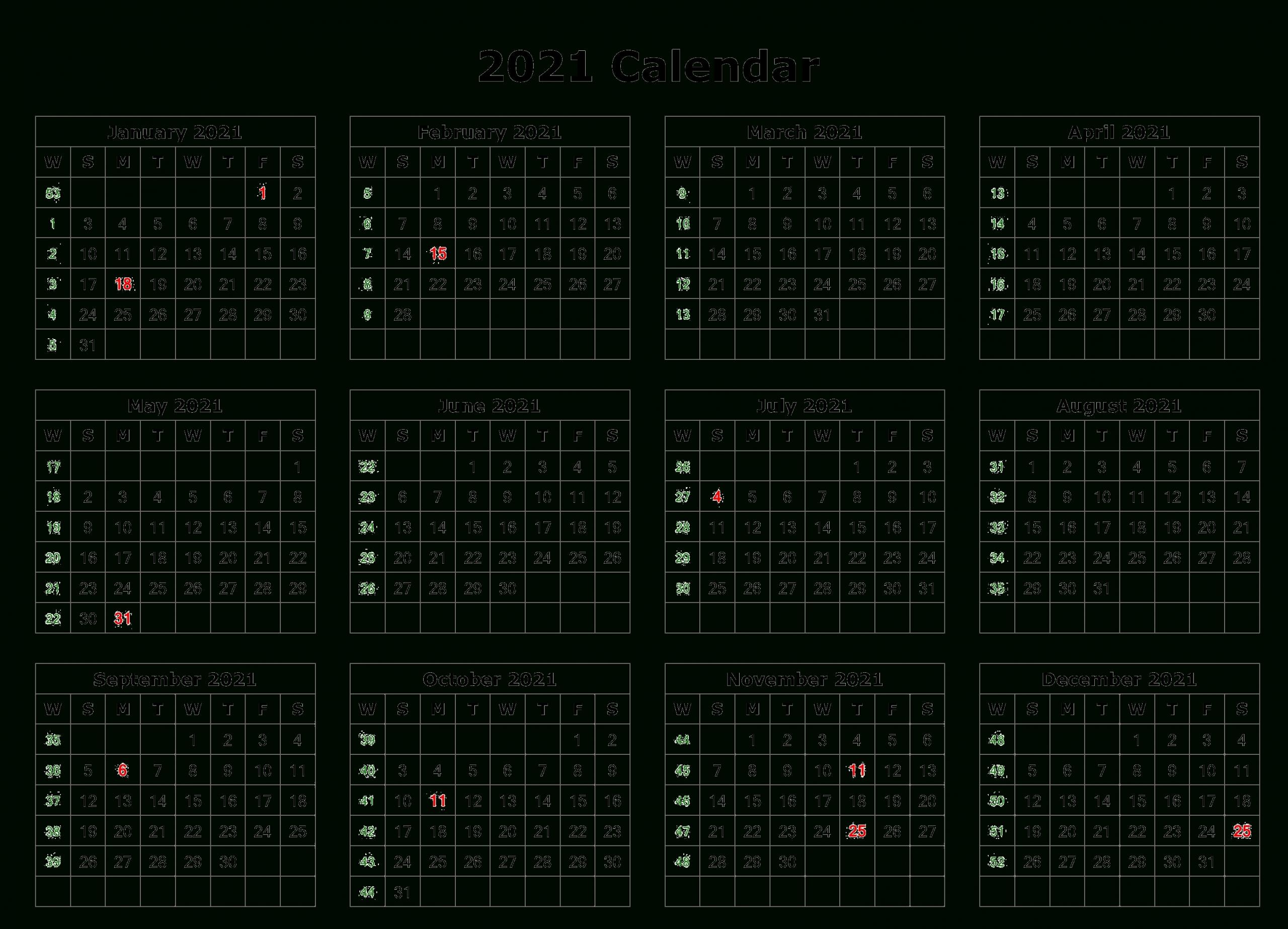 2021 Calendar Png Transparent Images | Png All  Calendar 2021 With Gregorian Dates