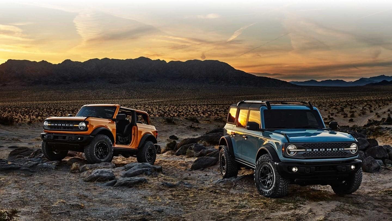 2021 Ford® Bronco Suv | The 2-Door & 4-Door Bronco Is Back  Projected Deer Rut Dates For 2021-2021