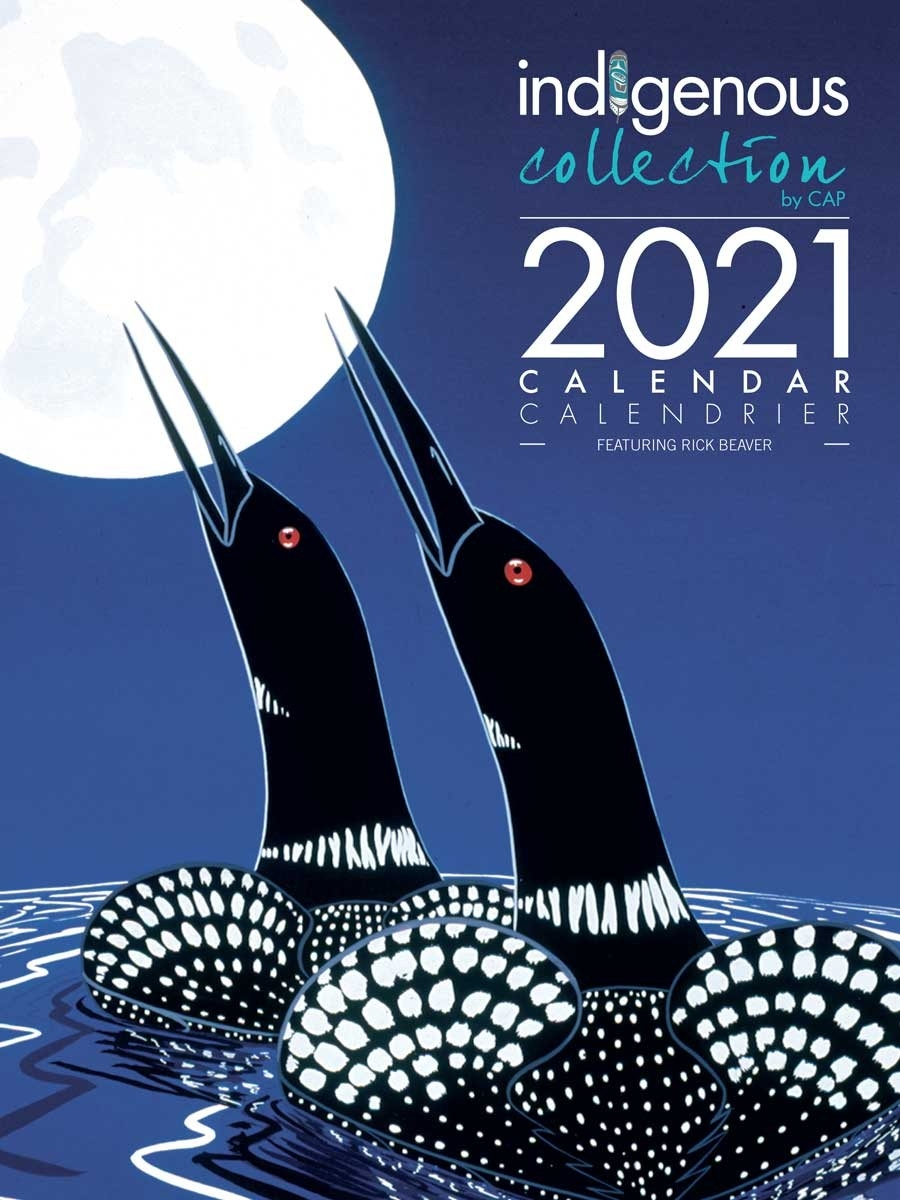 2021 Wall Calendar With Rick Beaver Artworks  Fsc Calendar 2021