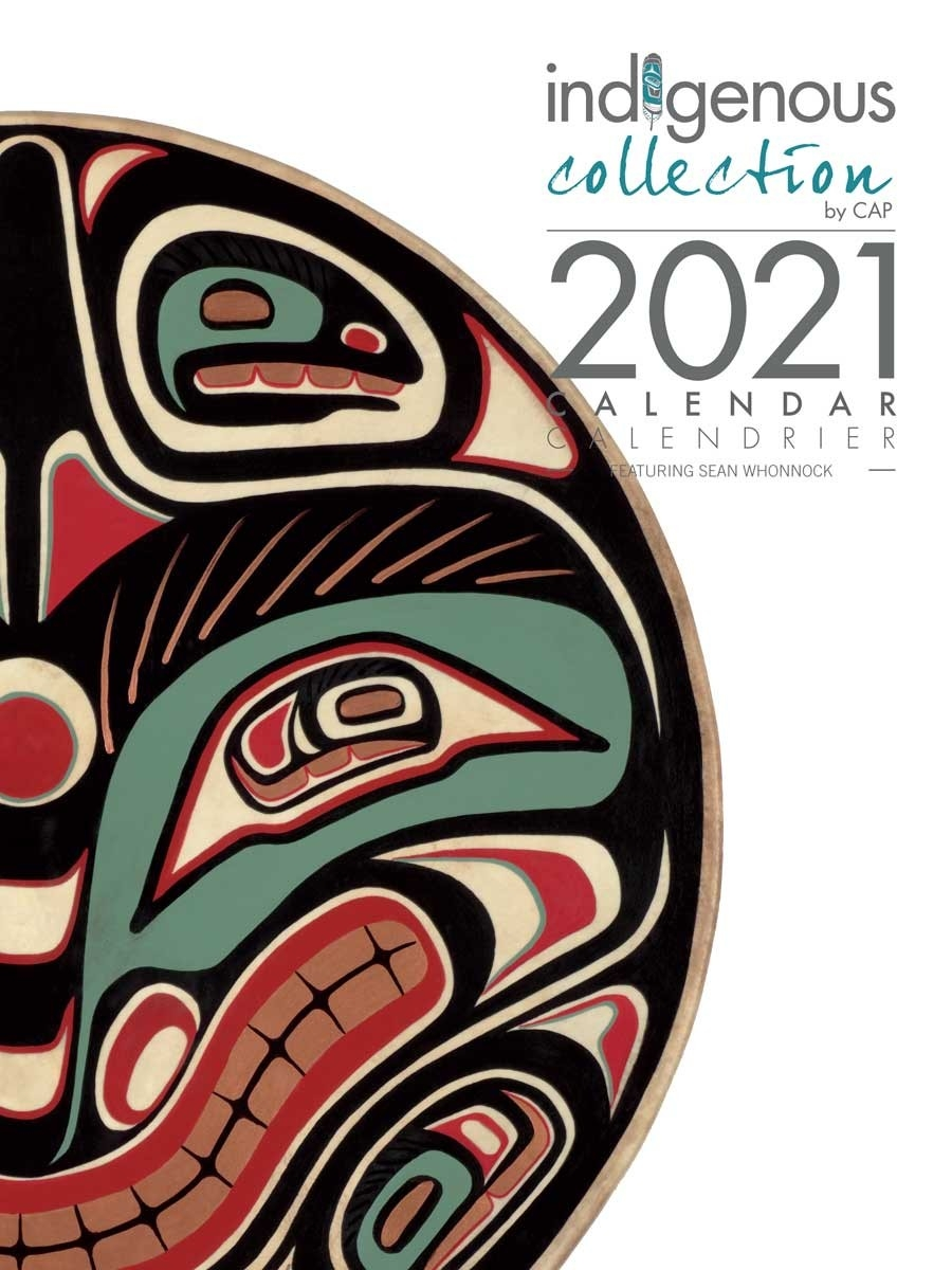 2021 Wall Calendar With Sean Whonnock Artworks  Fsc Calendar 2021