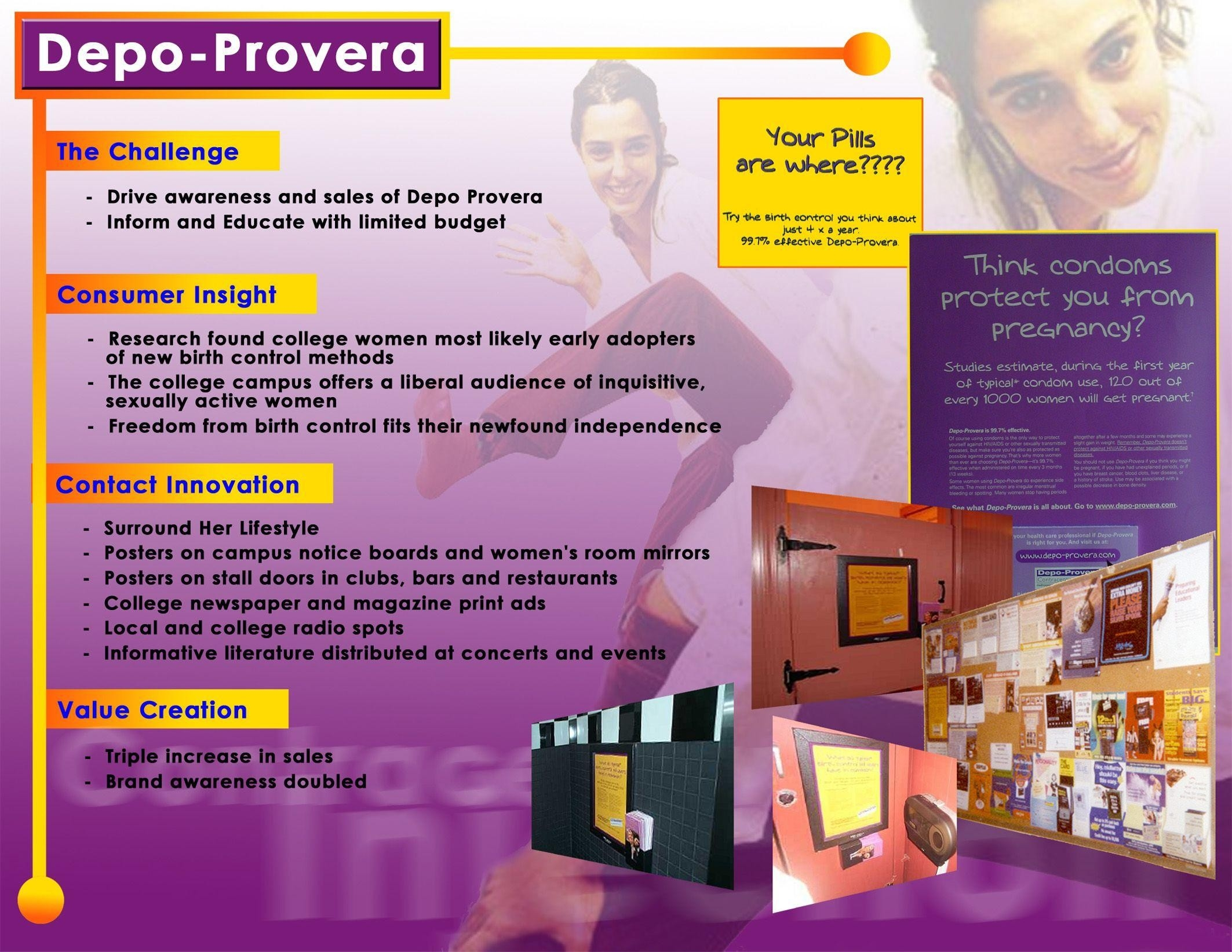 Adeevee | Only Selected Creativity - Pharmacia Depo Provera  Depot Prover Calcul