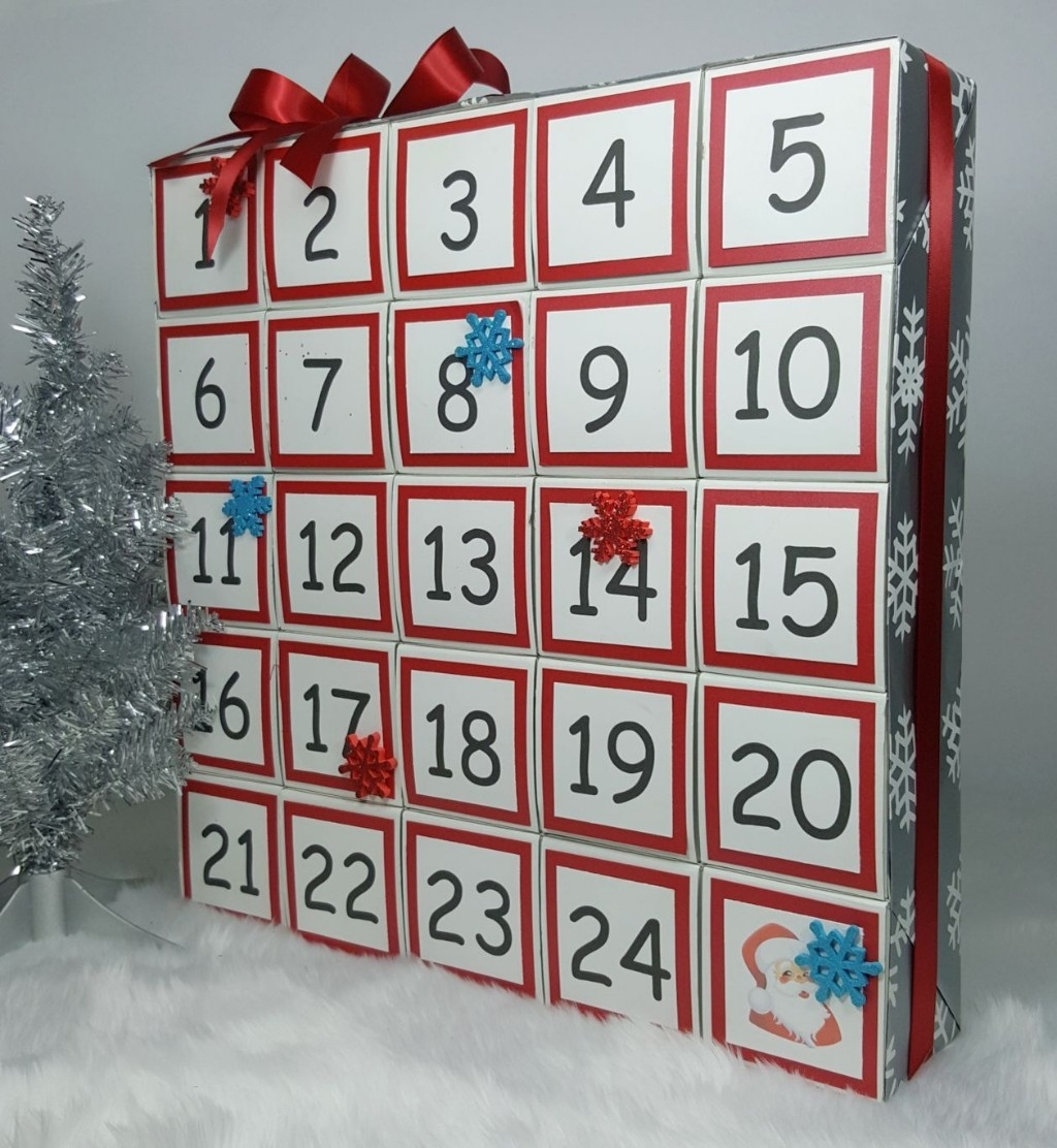 Advent Calendar You Can Easily Make Yourself Using Gift Boxes!  Advent Calendar Box