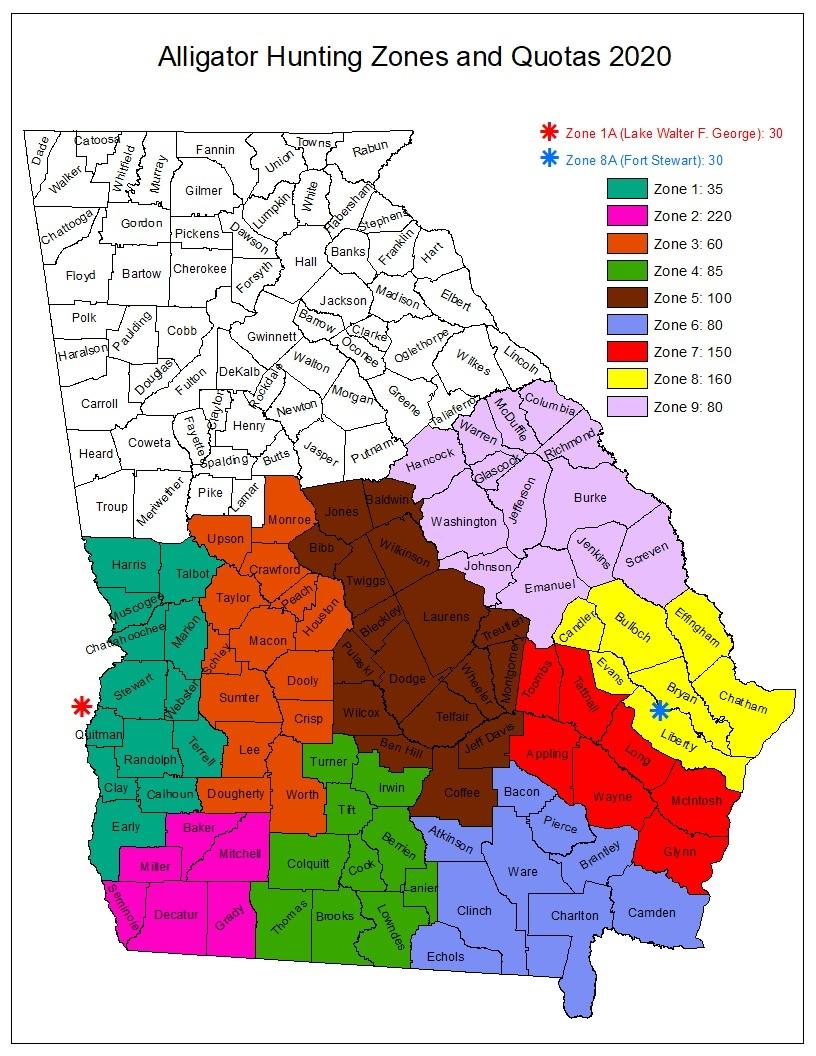 Alligator Hunting Season & Regulations | Department Of  2020 Hunting Season In Georgia
