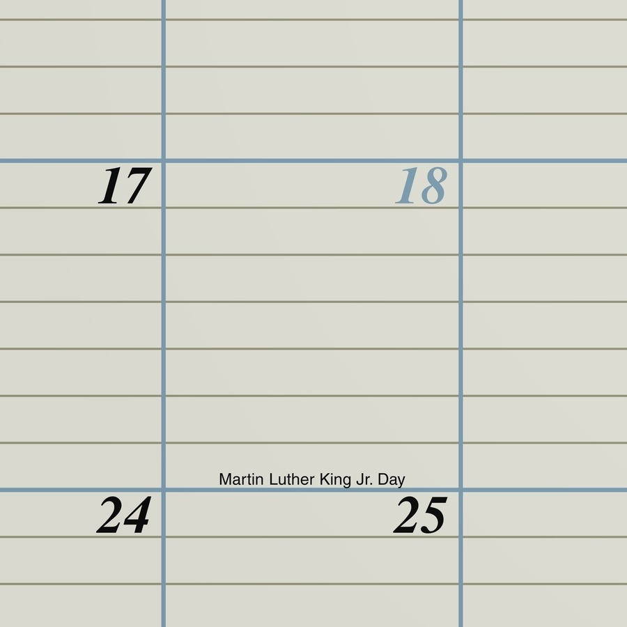 """At-A-Glance Executive Monthly Calendar Desk Pad - Julian Dates - Monthly -  1 Year - January 2021 Till December 2021 - 1 Month Single Page Layout - 22""""  """"2021 Julian Day Code Calendar"""""""