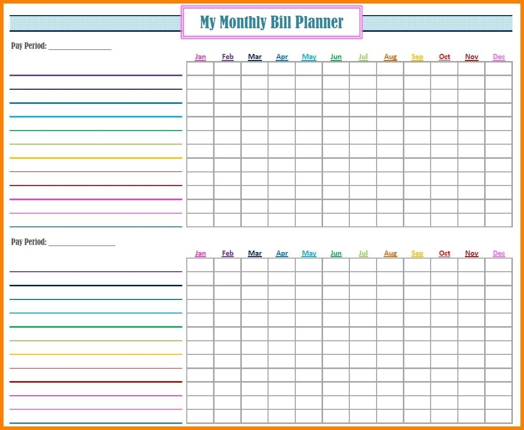 Bill Payment Spreadsheet Excel Templates Papillon Nor  Free Downloadable Monthly Payment Spreedsheet