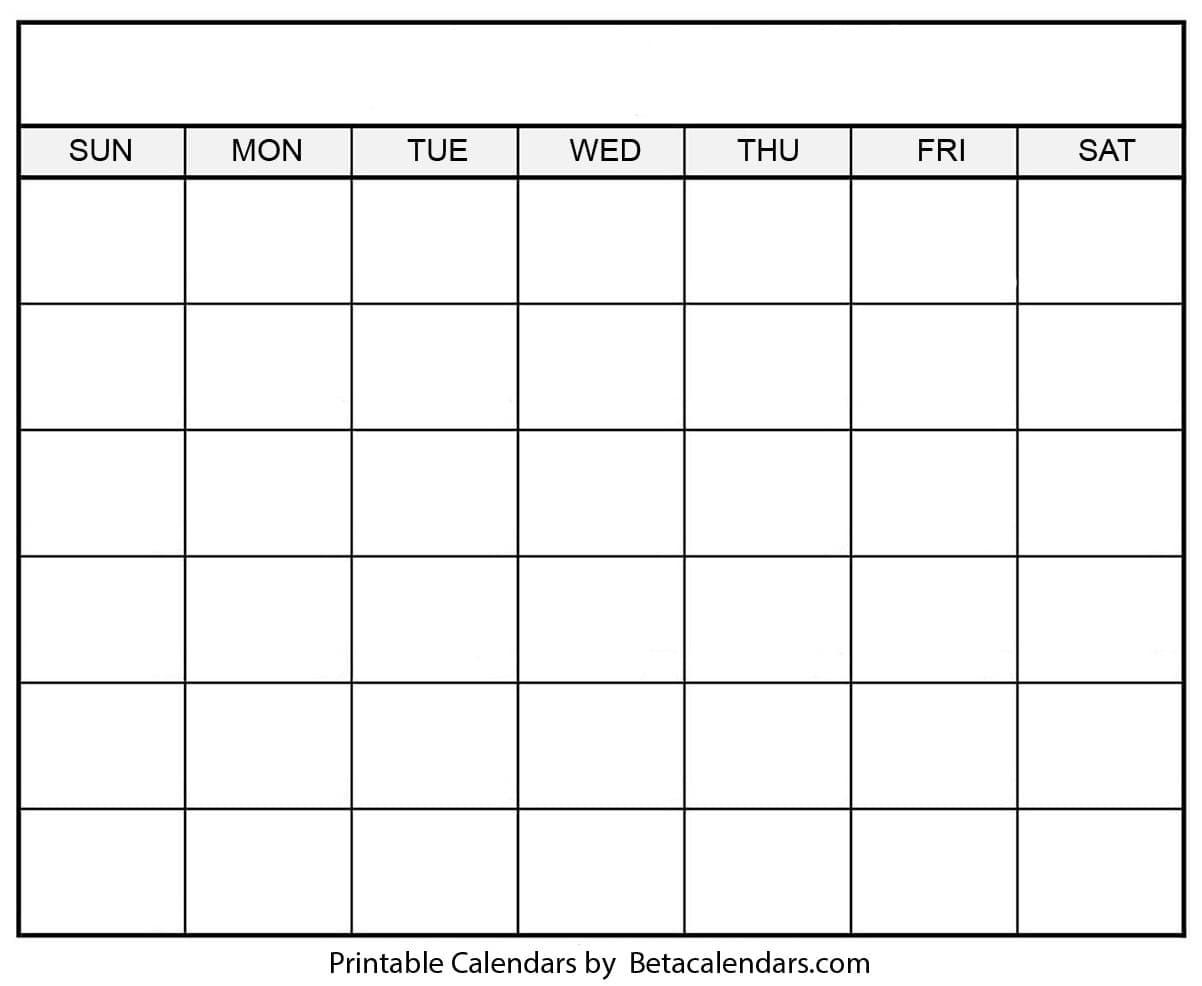 Blank Calendar 2021   Free Blank Printable Templates  Printable 30 Day Challenge Blank Calendar