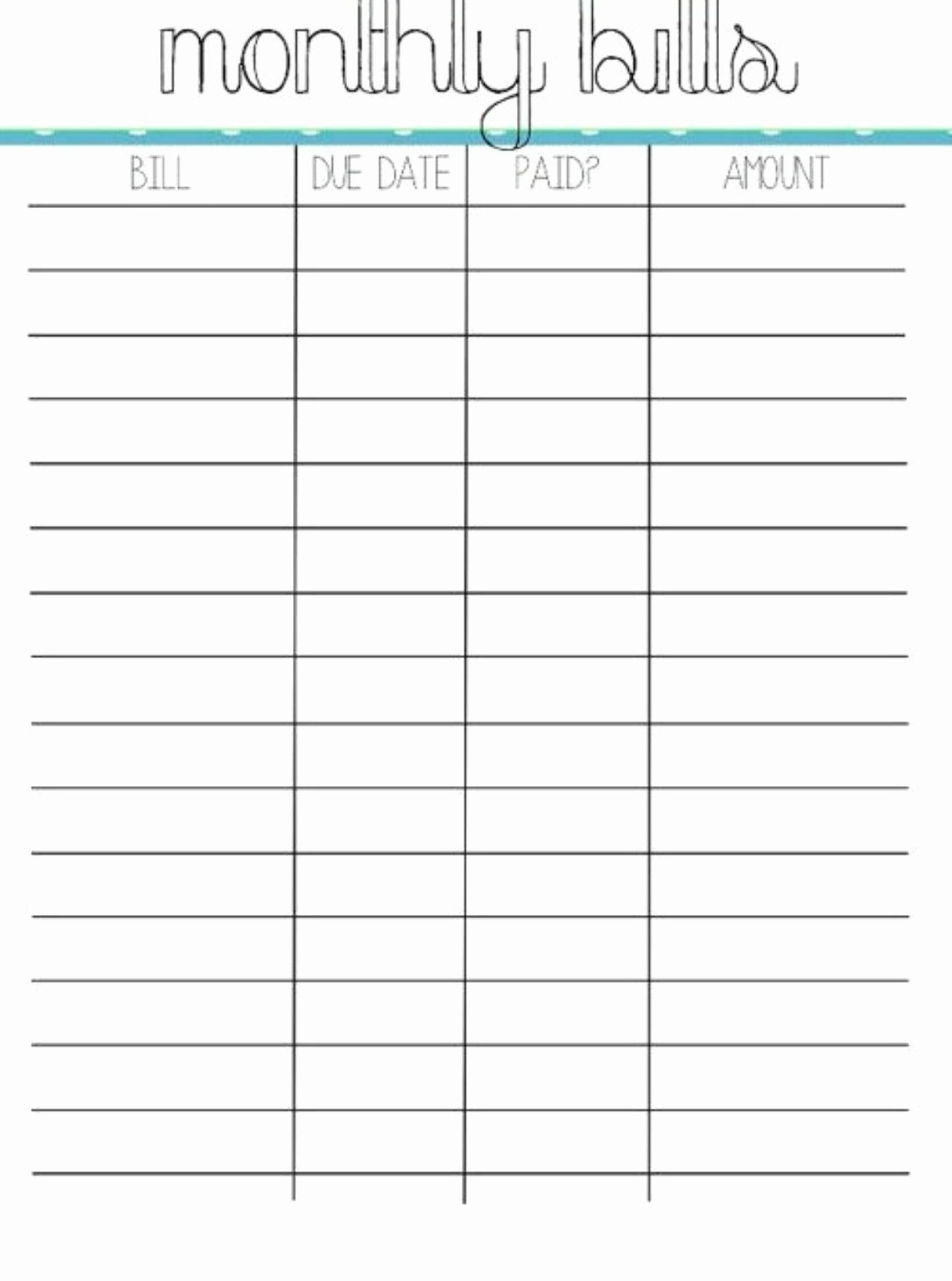Budget Worksheet In 2020 | Monthly Budget Template  Bill Paying Worksheet Pdf