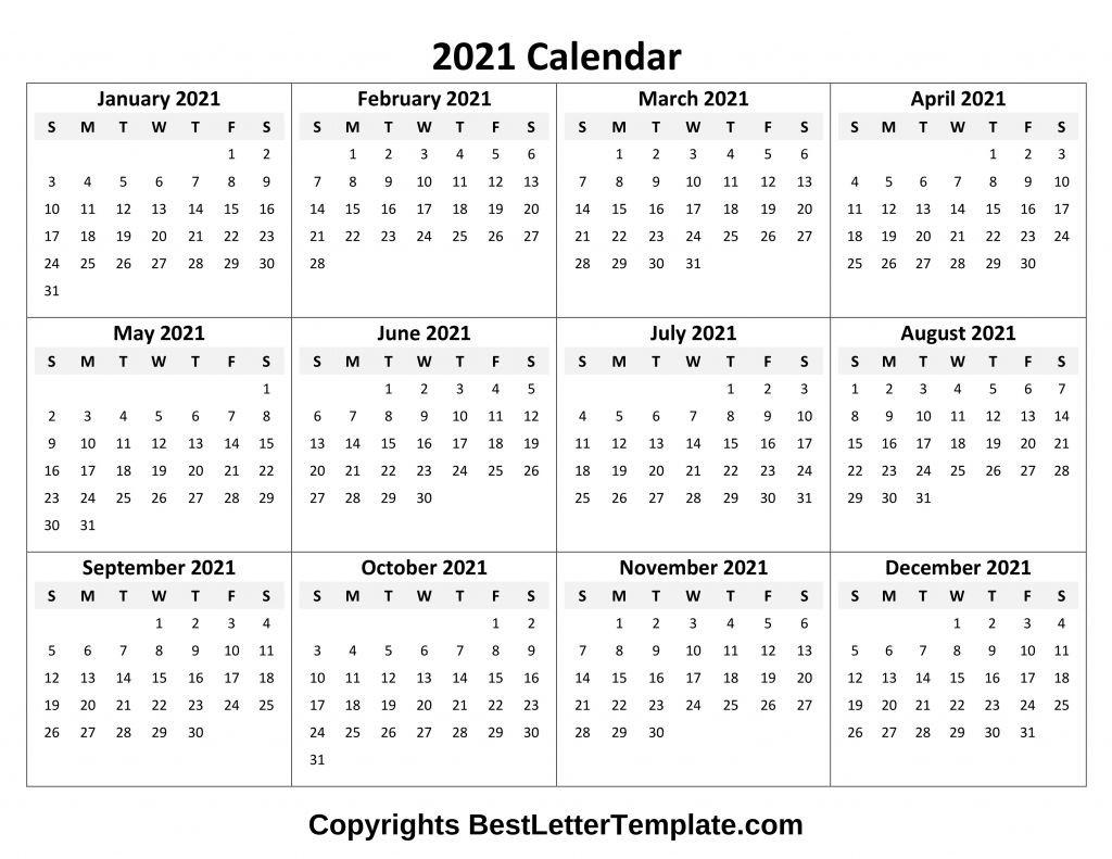 Calendar 2021 Tumblr Free In 2020 | Excel Calendar Template  Free Online Calendars 2021 Printable