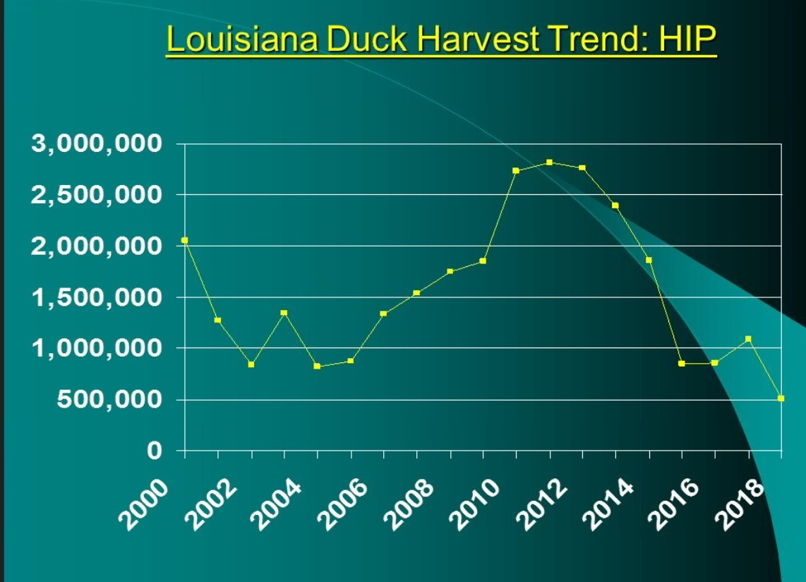 Commission Hears Significant Waterfowl News From Waterfowl  Louisiana Deer Rut 2021
