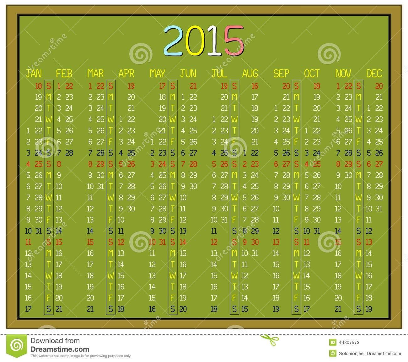 Custom Calendar Stock Illustrations – 462 Custom Calendar  Dia Juliano 2021