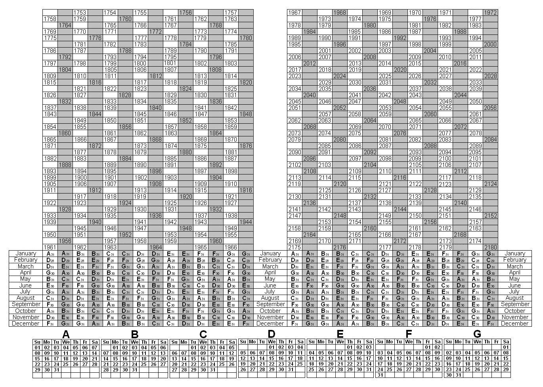 Depo-Provera Perpetual Calendar Di 2020  Perpetual Depo