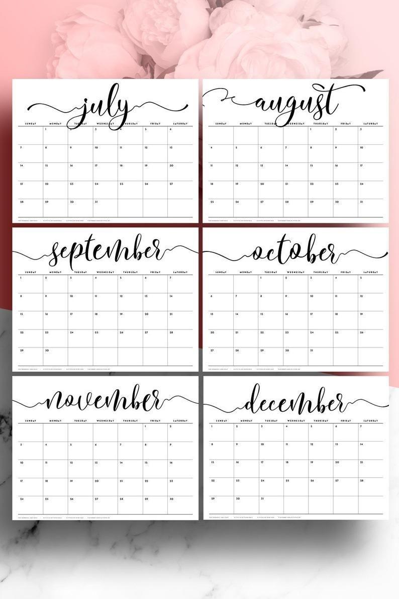Desk Calendar 2021 Large Desk Calendar A3 Monthly Planner  A3 Calendar 2021