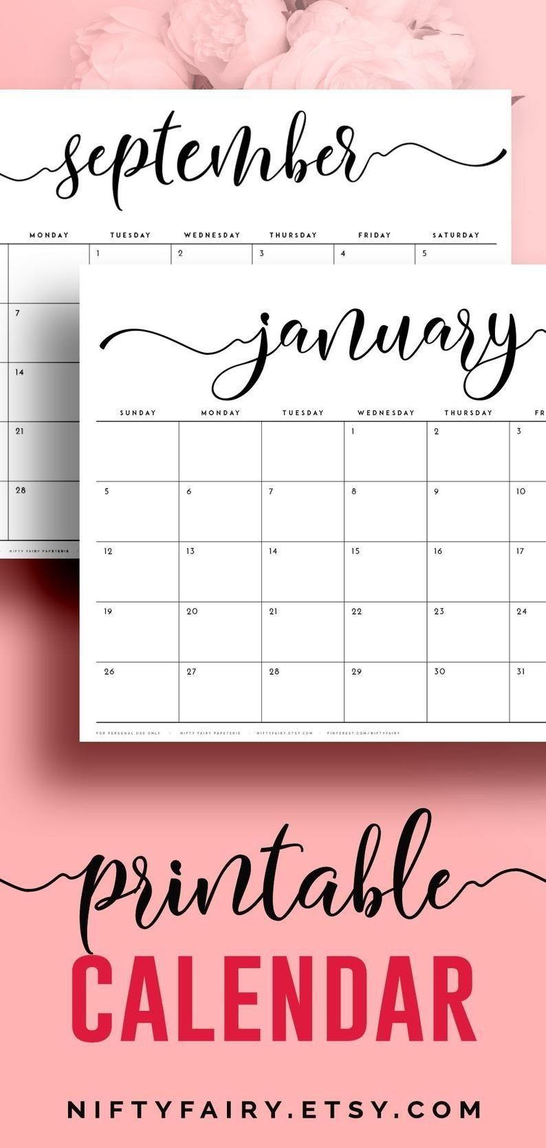 Desk Calendar 2021 Large Desk Calendar, A3 Monthly Planner  A3 Calendar 2021