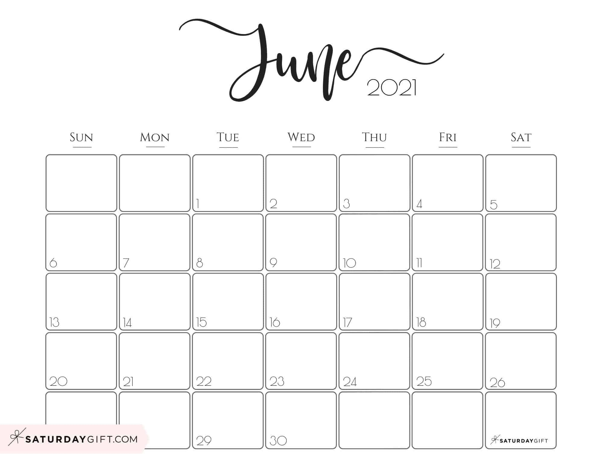 Elegant 2021 Calendarsaturdaygift - Pretty Printable  July 2021 Printable Calendar Girly