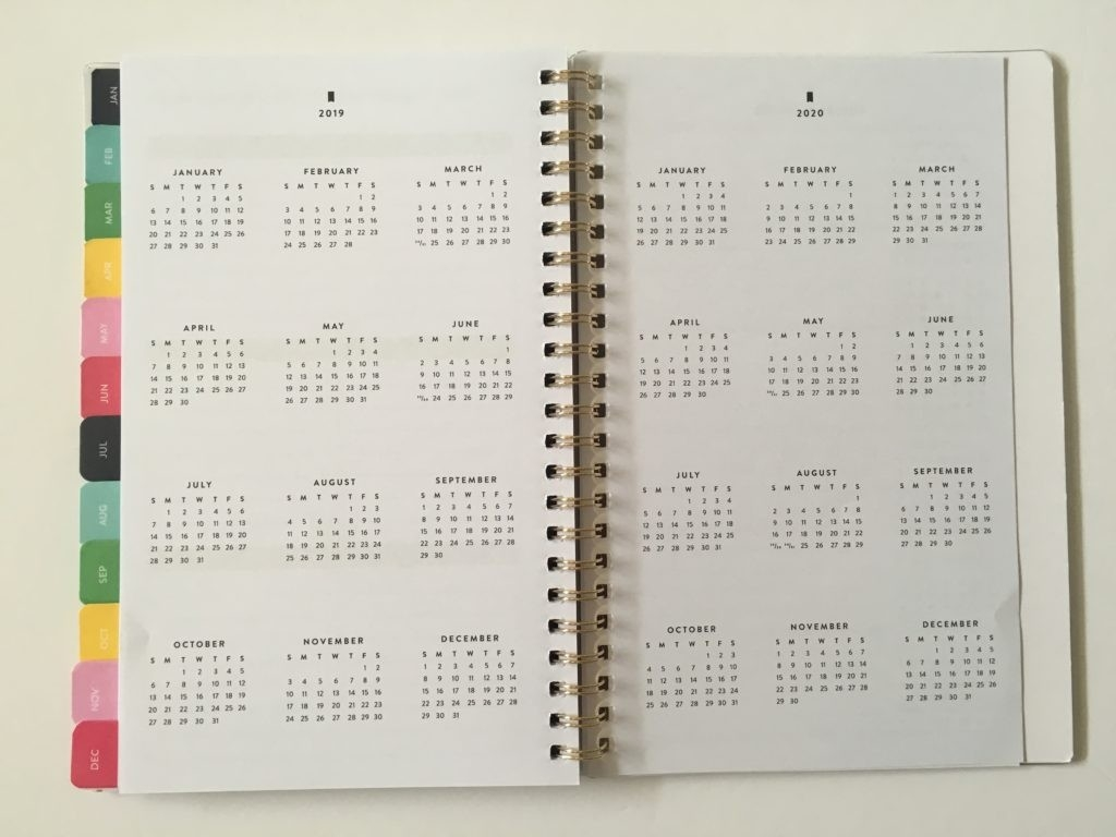 Emily Ley Simpified Planner Collaboration With At A Glance  Depot Calendar