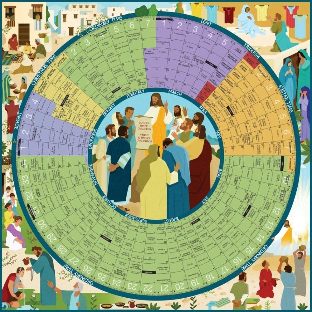 Episcopal Church Calendar And Colors - Calvarych-Sc  Liturgical Calendar