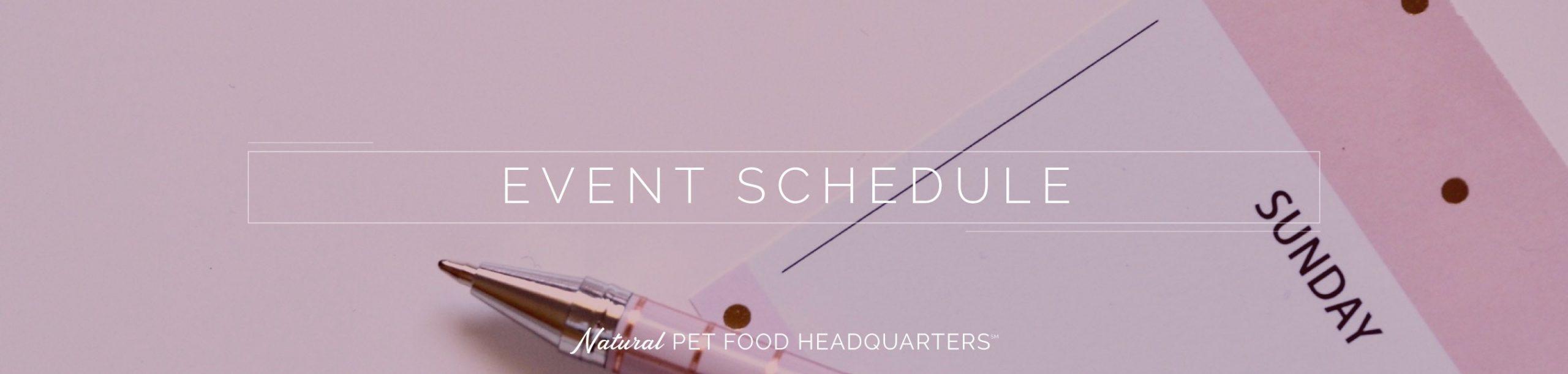 Event Calendar | Stacy'S Pet Depot  Depot Calendar