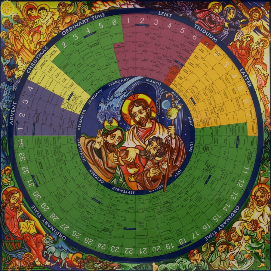Experimental Theology: The Liturgical Year For Dummies  Liturgical Calendar