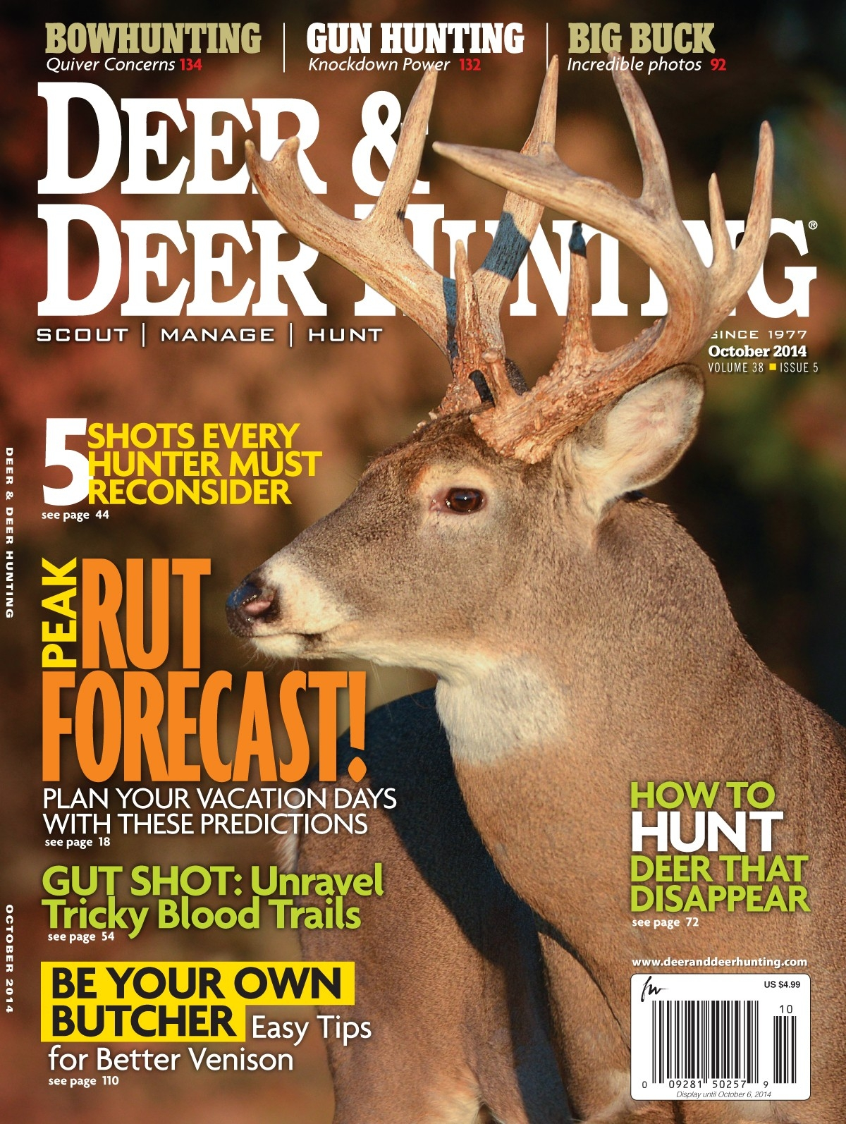Find Out When You Should Be Chasing The Biggest Bucks - Deer  2021 Deer Rut Forecast
