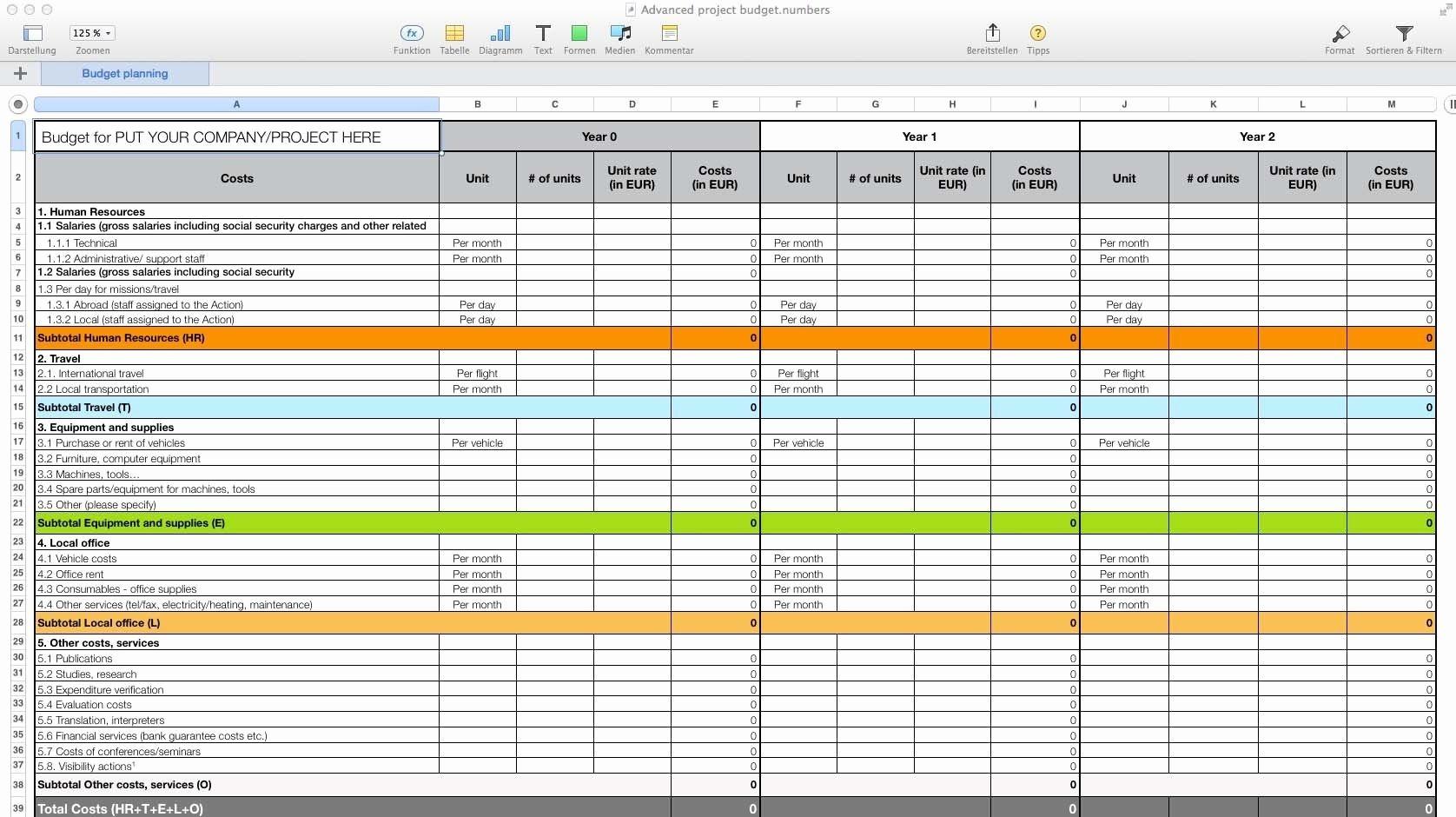 Free Budget Spreadsheet For Mac In 2020 | Budget Spreadsheet  Depot Administration Calendar Free Pdf