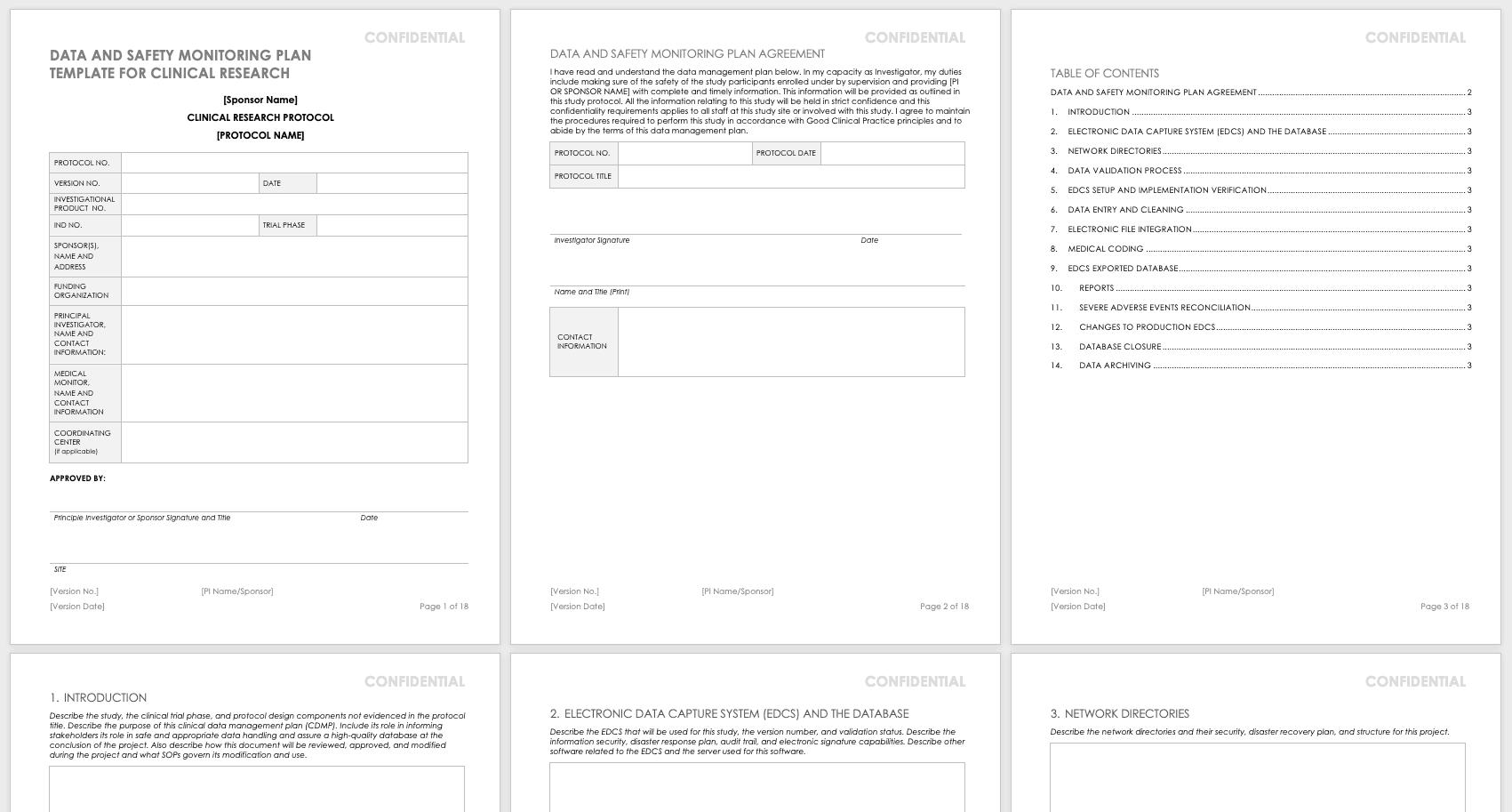 Free Clinical Trial Templates | Smartsheet  Depot Administration Calendar Free Pdf