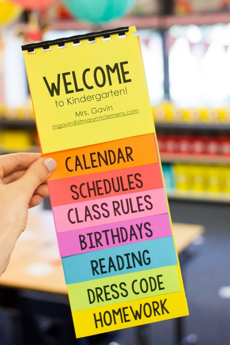 Free Parent Flip Book Template Featuring Astrobrights Paper  Flip Chart Template For Word