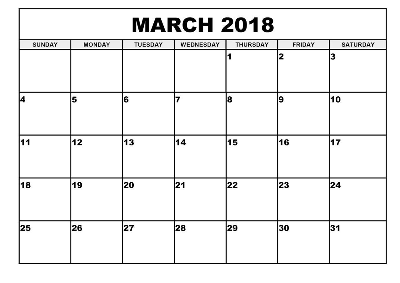 Free Printable Large Print Calendars For The Visually  Large Monthly Calendar Template
