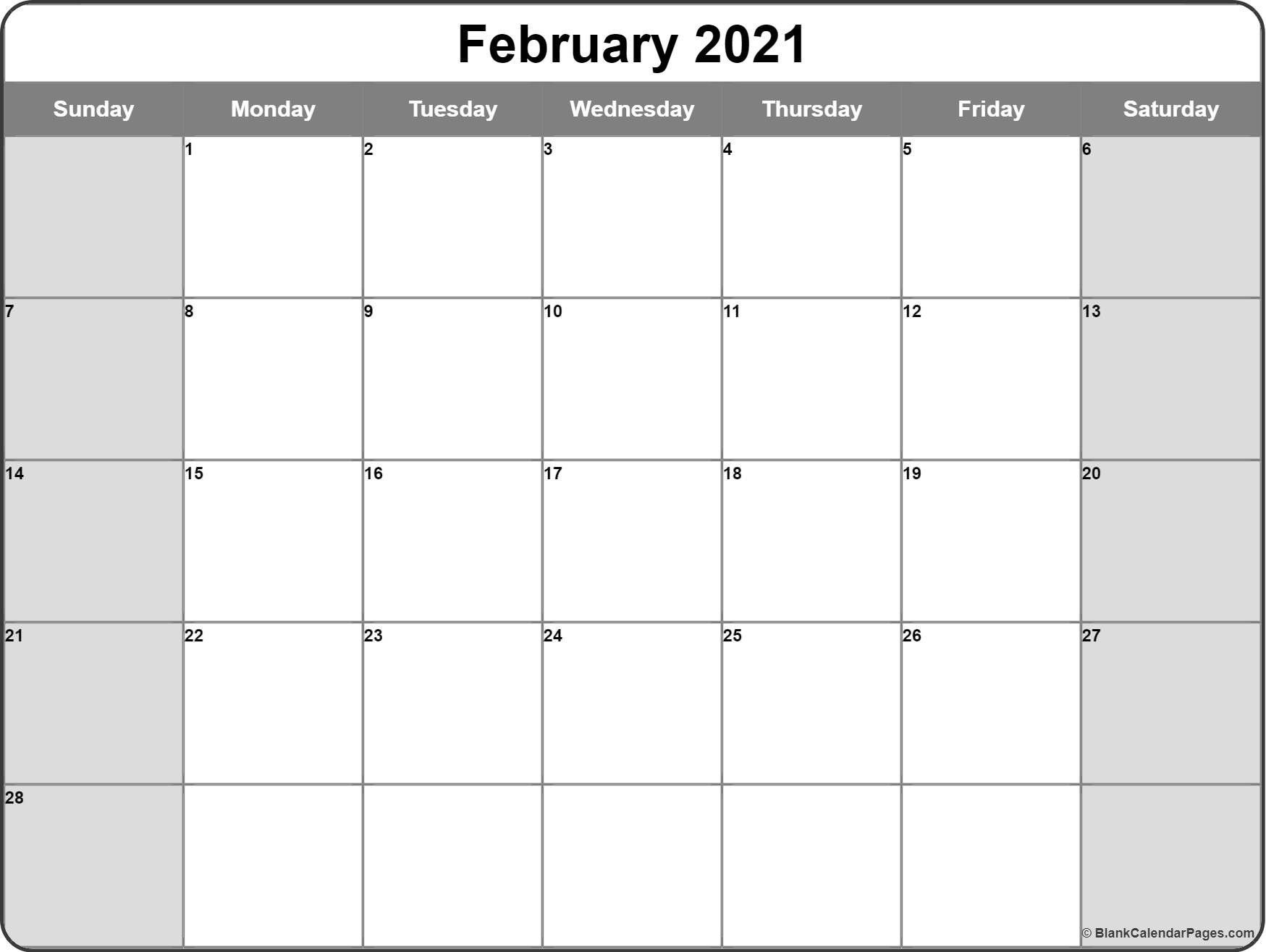 Free Printable Monthly Calendar 2021 Monthly – Welcome To  2021 Free Printable Editable Monthly Calendar Template