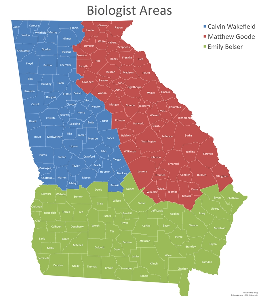 Georgia Deer Management Assistance Program (Dmap  2021 Rut Map For Ga
