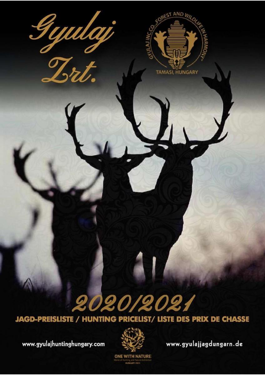 Gyulaj Hunting Hungary |  Third Rut Missouri 2021