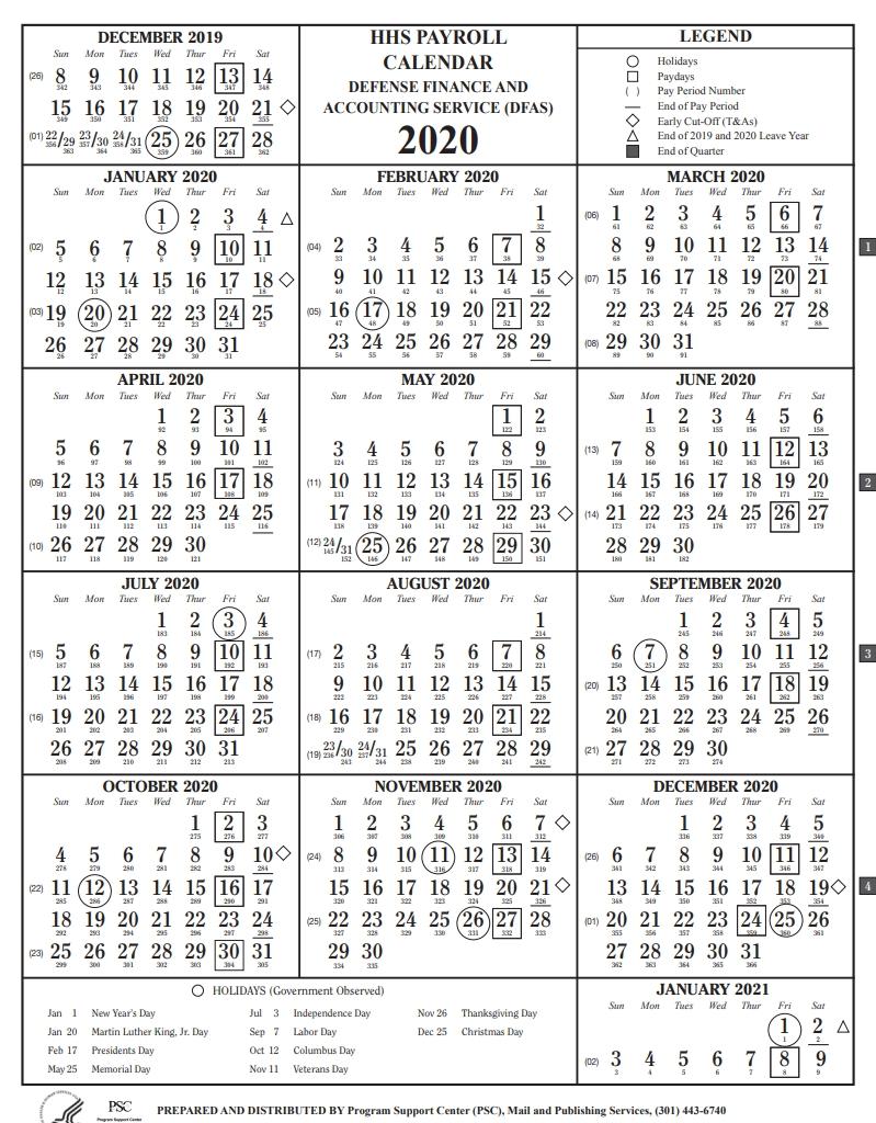 Hhs Payroll Calendar 2021 | Payroll Calendar  Dfas Payroll Calendar