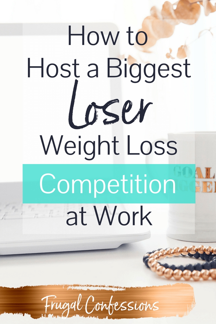 How To Host A Biggest Loser Weight Loss Competition (2020)  Workplace Fitness Challenge Chart