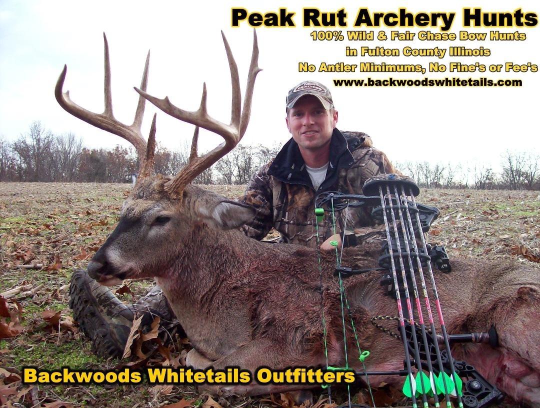 Illinois Peak Rut Bowhunting - Whitetail Deer Hunting Outfitters  Central Illinois Peak Rut 2021