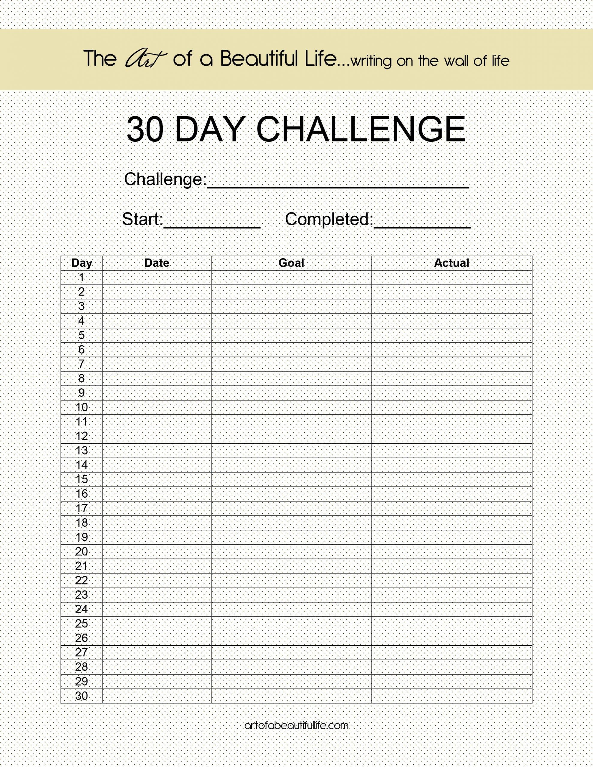 Inspirational Quotes, Digital Planner, Habit Tracker, How To  Fitness Challenges Worksheet