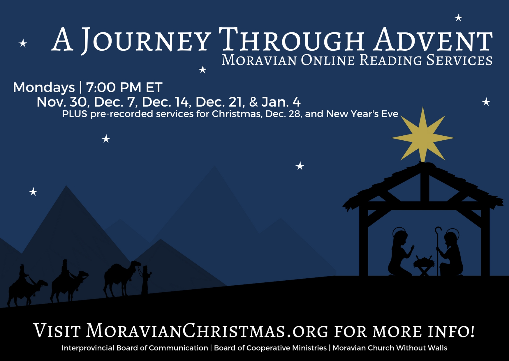 Join Us For A Journey Through Advent Online Reading Service  Church Lectionary Jan 26    2021