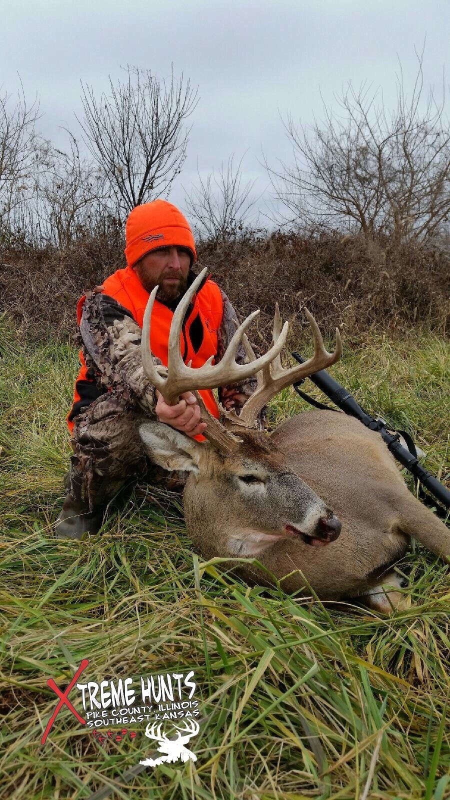 Kansas Whitetail Hunts | Xtreme Hunts - Pike County, Il & Kansas  Kansas Whitetail Rut Dates