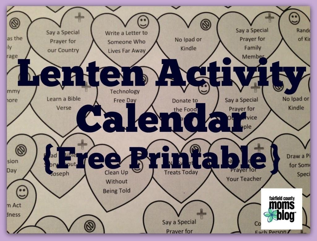 Lenten Activity Calendar For Families {Free Printable!}  Free Lenten Calendar 2021